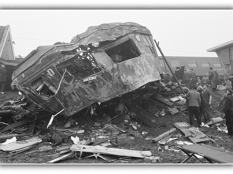 Ολλανδία - Σιδηροδρομικό δυστύχημα. 1962