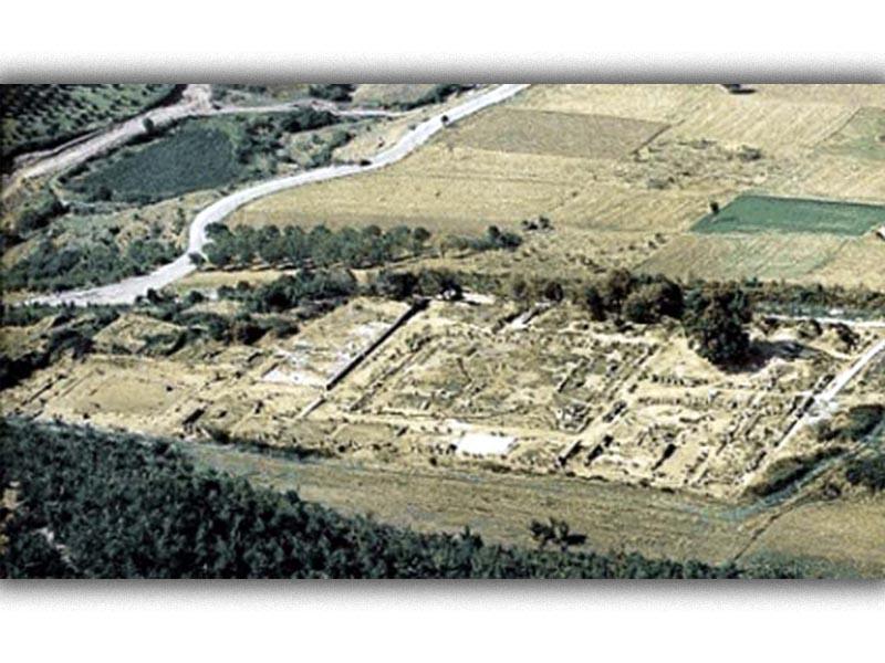 Αρχαιολογία - Ανασκαφές - Μανώλης Ανδρόνικος - ανάκτορο της Βεργίνας