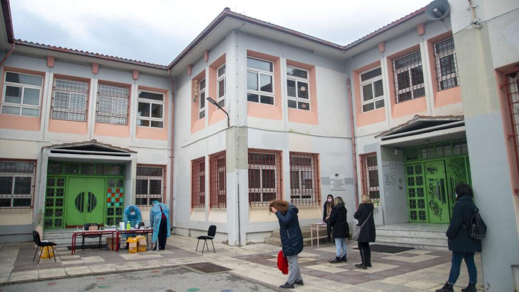 Rapid test σε εκπαιδευτικούς στο Δήμο Καλαμαριάς Θεσσαλονίκης