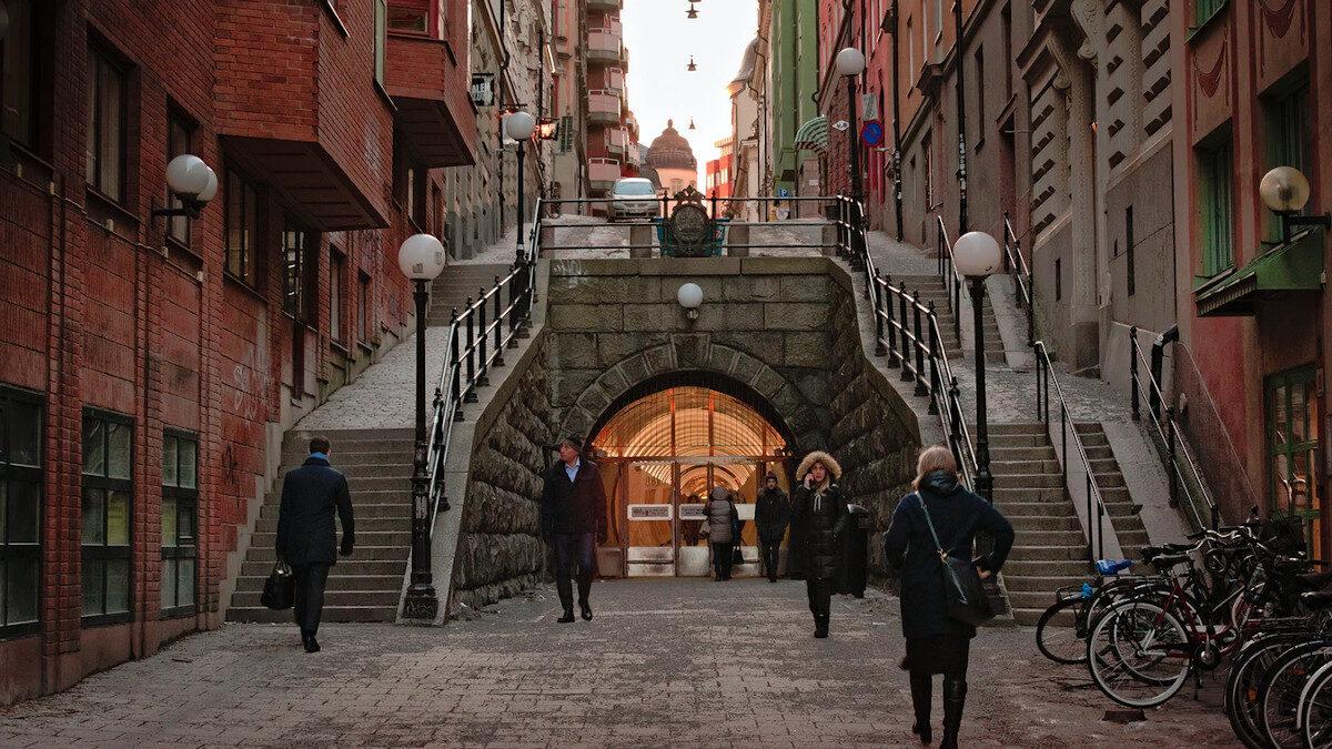Brunkeberg Tunnel, Στοκχόλμη, Σουηδία