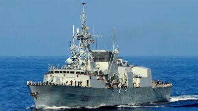 Η Φρεγάτα HMCS Halifax (FFH330) του Βασιλικού Ναυτικού του Καναδά