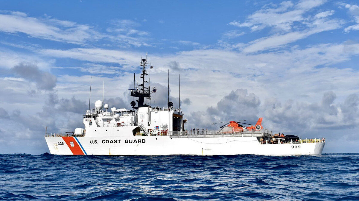 πλοίο της αμερικανικής ακτοφυλακής