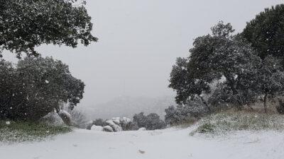 Ισχυρές χιονοπτώσεις στην Ισπανία