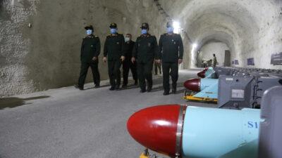Εικόνα από την πυραυλική βάση του Ιράν