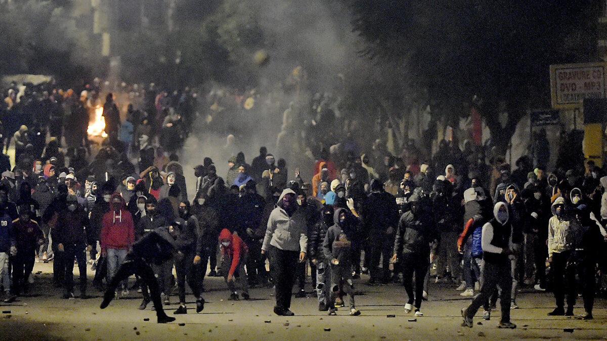 τυνησία διαδηλώσεις