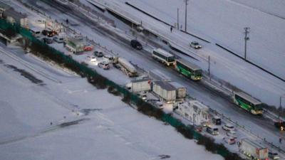 χιονοπτώσεις στην ιαπωνία