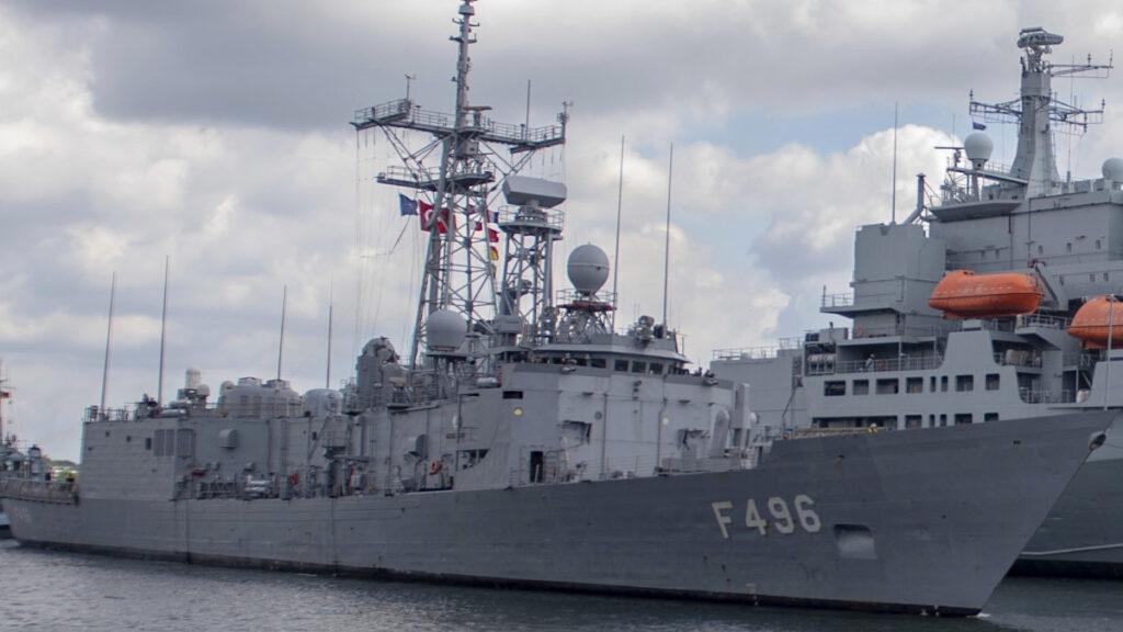 Φρεγάτα TCG GOKOVA (F496) του Πολεμικού Ναυτικού της Τουρκίας