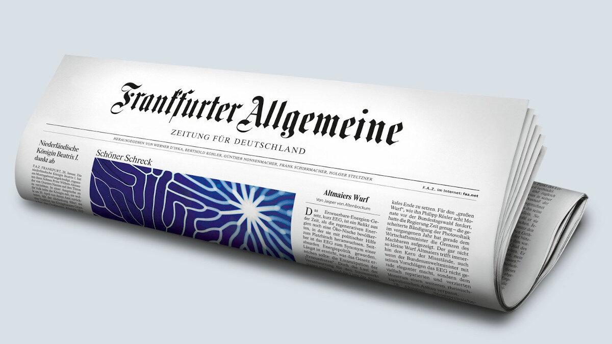 Γερμανία Frankfurter Allgemeine Zeitung (FAZ)
