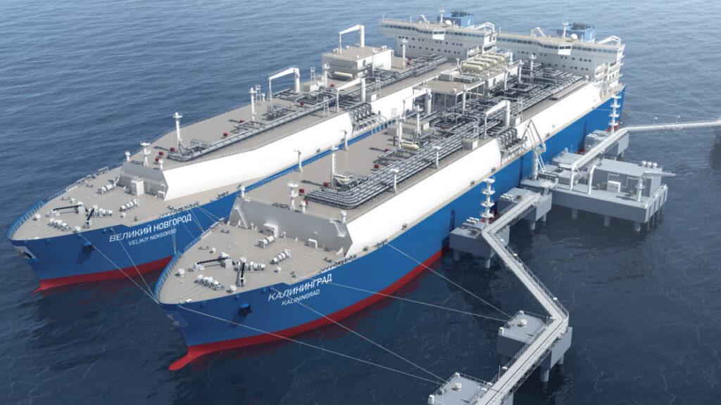 Πλωτή μονάδας αποθήκευσης υγροποιημένου φυσικού αερίου στη Ρωσία (FSRU)