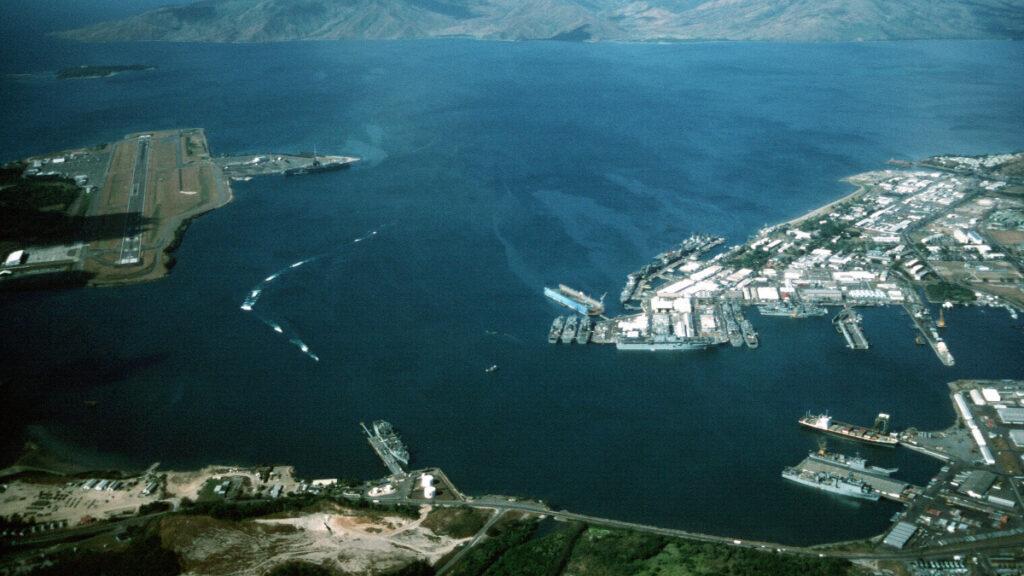 Αεροναυτική Βάση των ΗΠΑ Sabic Bay στις Φιλιππίνες