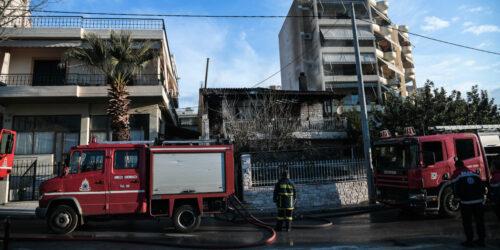 Πυροσβεστική - Πυρκαγιά σε μονοκατοικία στη Μεταμόρφωση, Αττικής - Γενάρης 2021