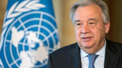 Αντόνιο Γκουτέρες, Γενικός Γραμματέας του Οργανισμού Ηνωμένων Εθνών (ΟΗΕ)