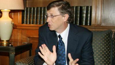 Μπιλ Γκέιτς - Microsoft - Ο μεγαλοεπιχειρηματίας Bill Gates στην Αθήνα το 2008