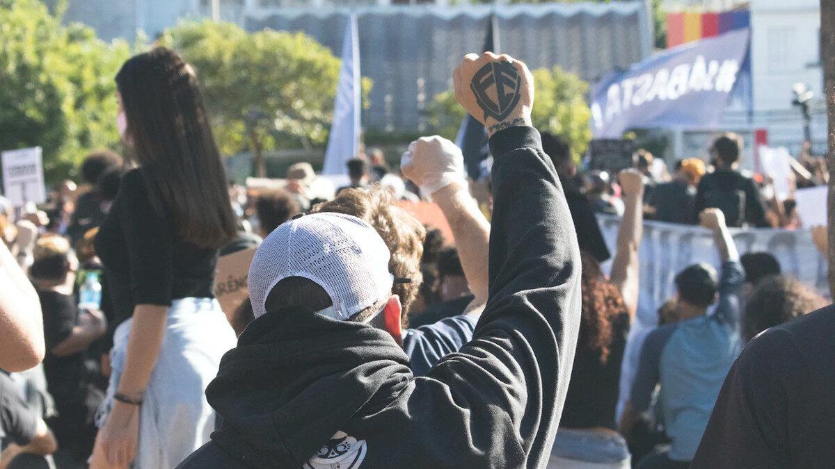 Διαδήλωση στο Σάο Πάολο της Βραζιλίας εναντίον του Προέδρου Ζ. Μπολσονάρο