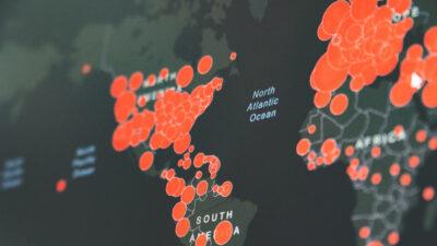 Ηλεκτρονικός χάρτης διάδοσης του νέου κορονοϊού - COVID-1