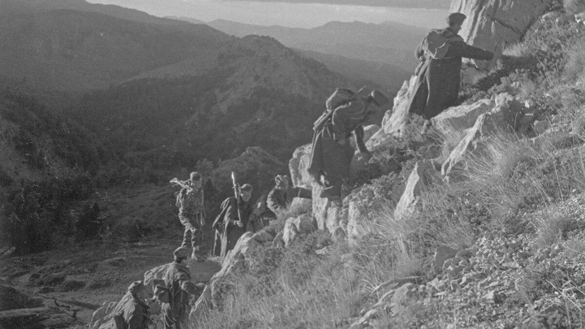 ΔΣΕ - Δημοκρατικός Στρατός Ελλάδας - Πορεία - ανάβαση