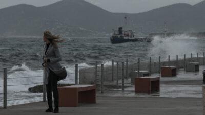 Καιρός - Θάλασσα - Κύμματα - Πειραιάς, δυτικοί άνεμοι στην Πειραϊκή, Καλλίπολη