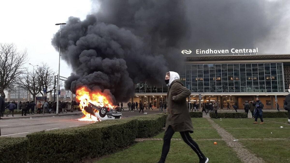 Ολλανδία Αϊντχόβεν επεισόδια