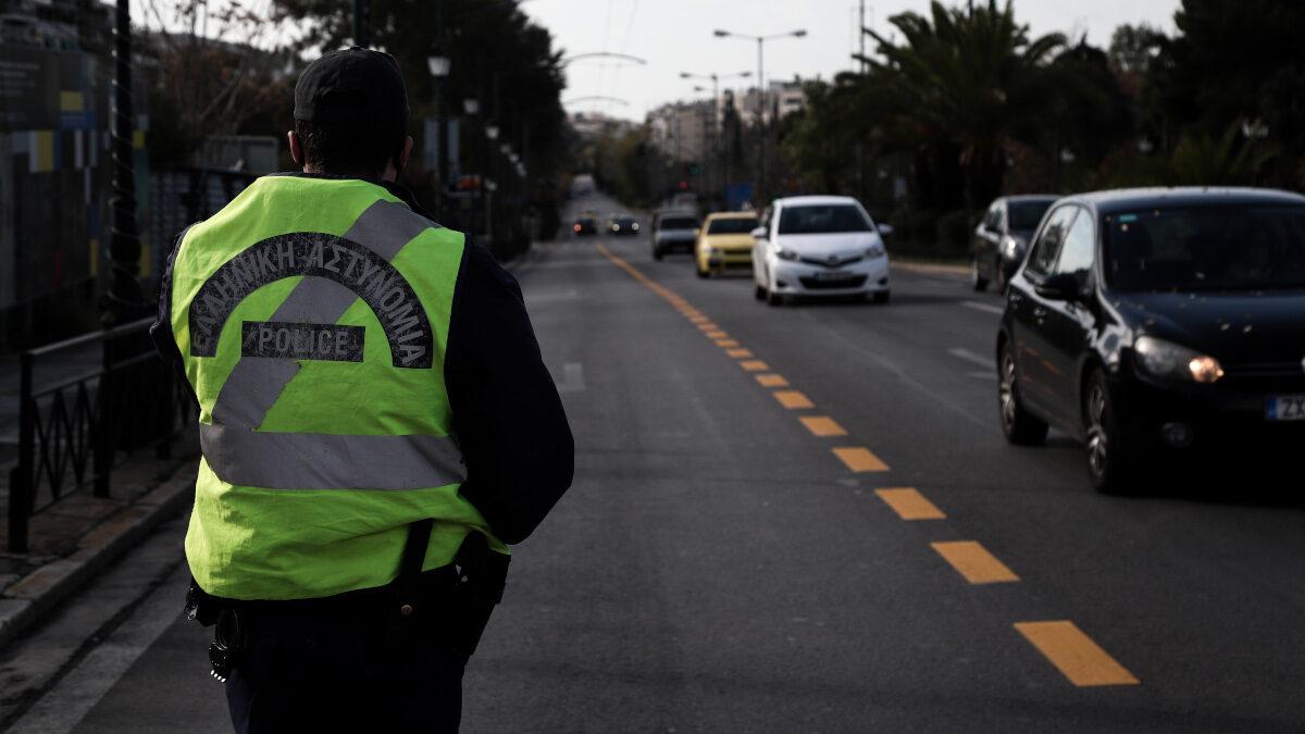 Έλεγχοι της αστυνομικών της Τροχαίας για την τήρηση των μέτρων κατά της διάδοσης του νέου κορονονοϊού (COVD-19) - Γενάρης 2021