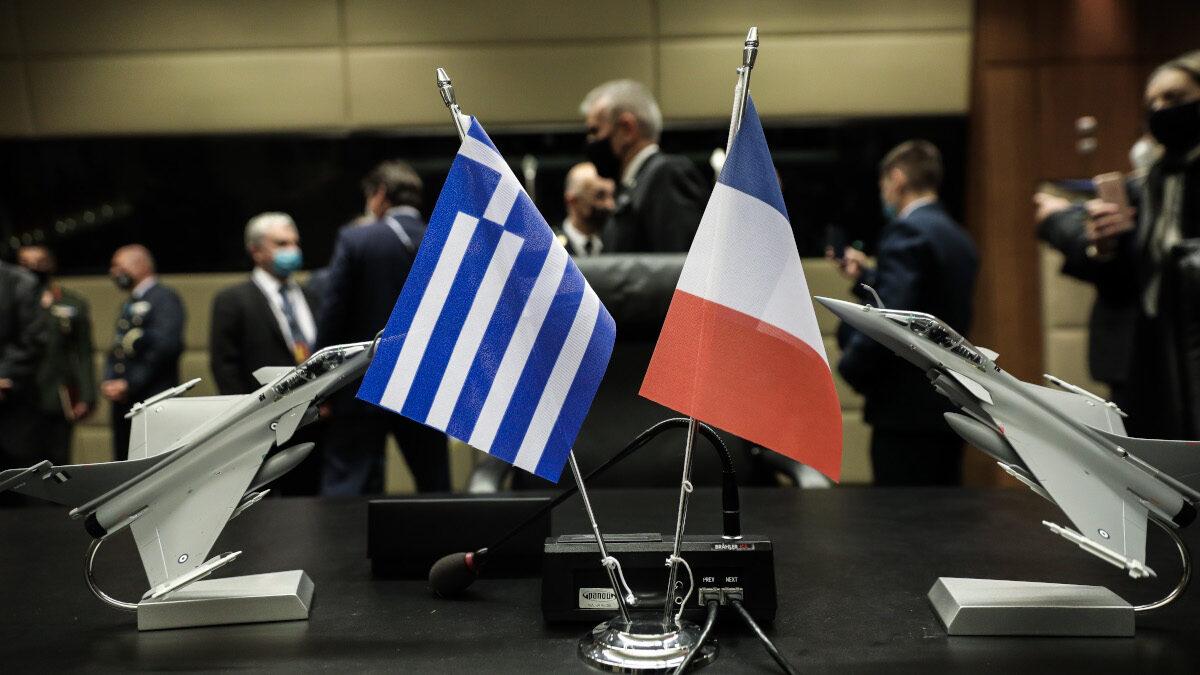 Ελλάδα - Γαλλία - Rafale