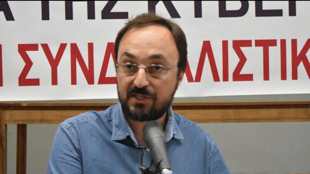 Γιάννης Σκόκας, Πρόεδρος Εργατικού Κέντρο Λάρισας