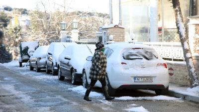 Καιρός - Τα πρώτα χιόνια στον Χορτιάτη - Κεντρική Μακεδονία - 15/1/2021