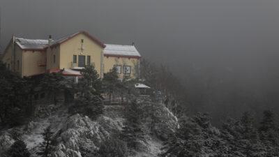Τα πρώτα χιόνια στην Πάρνηθα - Αττική - 15/1/2021