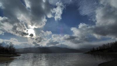 Σύννεφα στη Λίμνη Πλαστήρα - Καρδίτσα