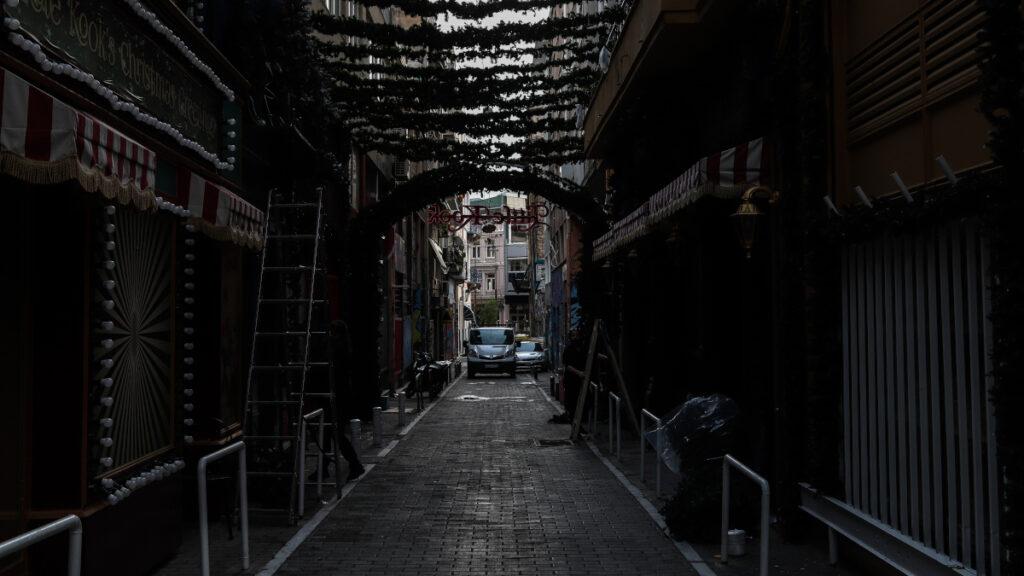 LOCKDOWN στην Αθήνα - Γενάρης 2021