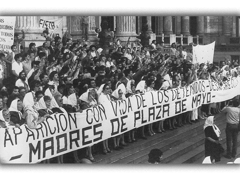 Αργεντινή -Χούντα, διαμαρτυρία 1982