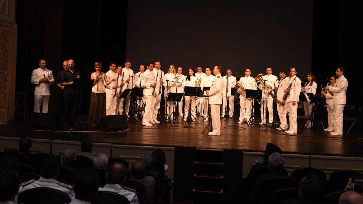 Η Φιλαρμονική του Λιμενικού Σώματος - Εκδήλωση στο Δημοτικό Θέατρο Πειραιά - 2015