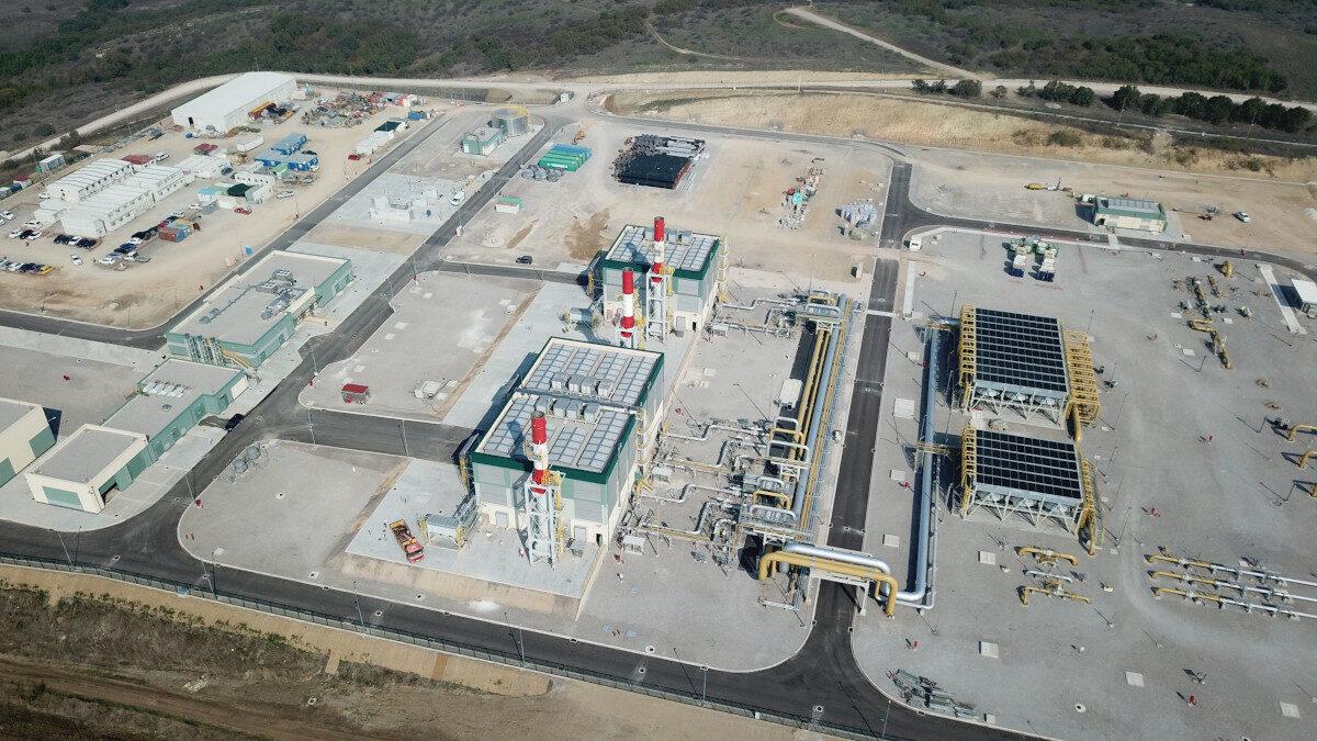 Σταθμός Συμπίεσης Φυσικού Αερίου, Κήποι, Έβρου - Αγωγός Φυσικού Αερίου TAP