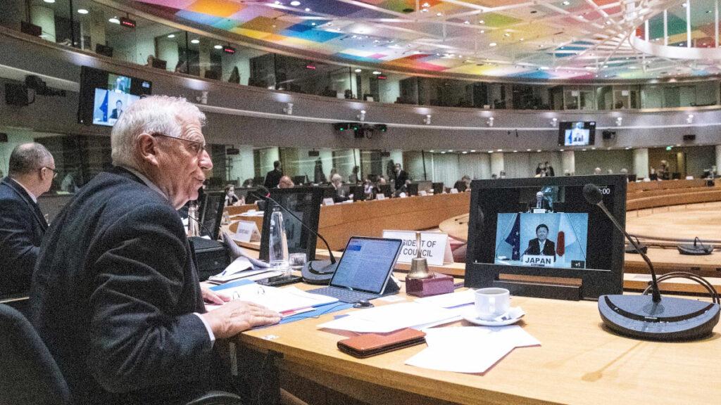 Συνεδρίαση του Συμβουλίου Εξωτερικών Υποθέσεων της Ευρωπαϊκής Ένωσης την Δευτέρα 25 Ιανουαρίου 2021