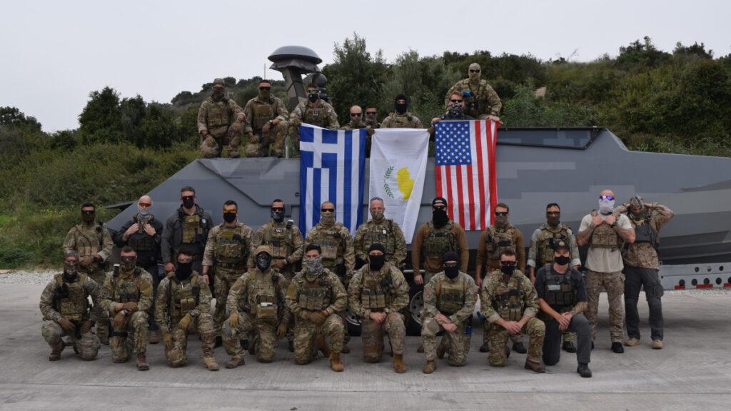 Τριμερής συνεκπαίδευση ειδικών Δυνάμεων Ελλάδας - ΗΠΑ - Κύπρου / Γενάρης 2021
