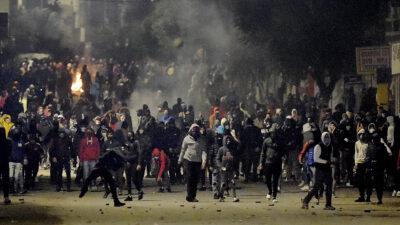 Τυνησία διαδηλώσεις διαμαρτυρίες