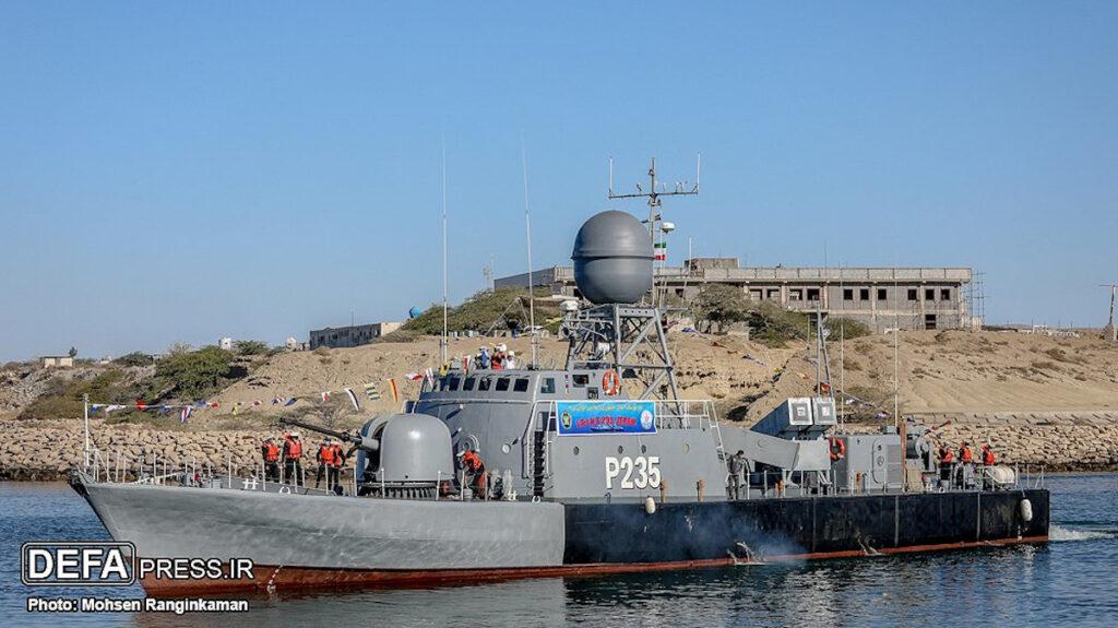 Πυραυλάκατος Zereh (P235) του Ιρανικού Ναυτικού