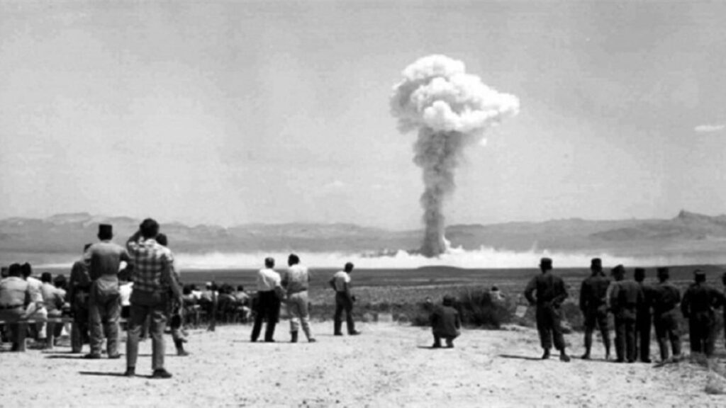 Γαλλία - Πυρηνικά όπλα - Σαχάρα