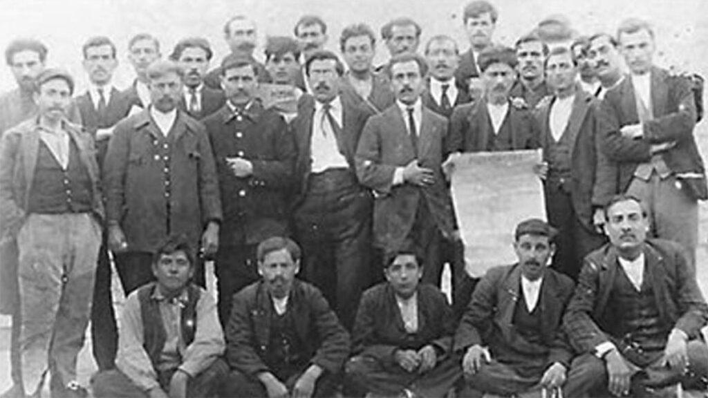 ΣΕΚΕ - ΚΚΕ - Εργατικό Κίνημα - Βόλος - Απεργία, 1921