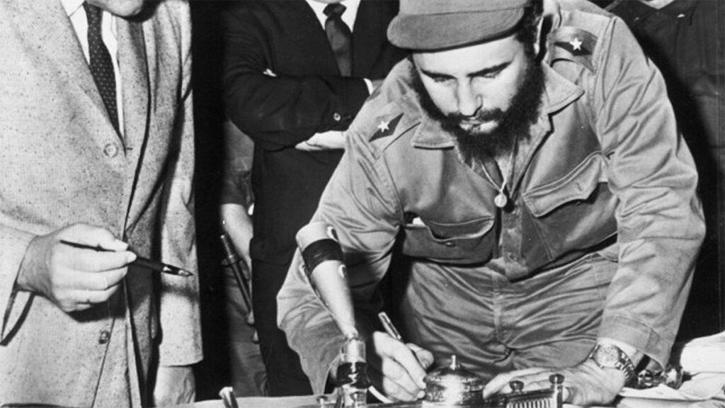 Κούβα - Επανάσταση - Φιντέλ Κατρο