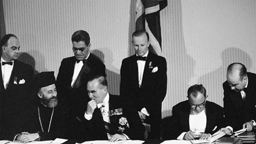 Ελλάδα - Τουρκία - Συμφωνίες Ζυρίχης - Λονδίνου, 1959