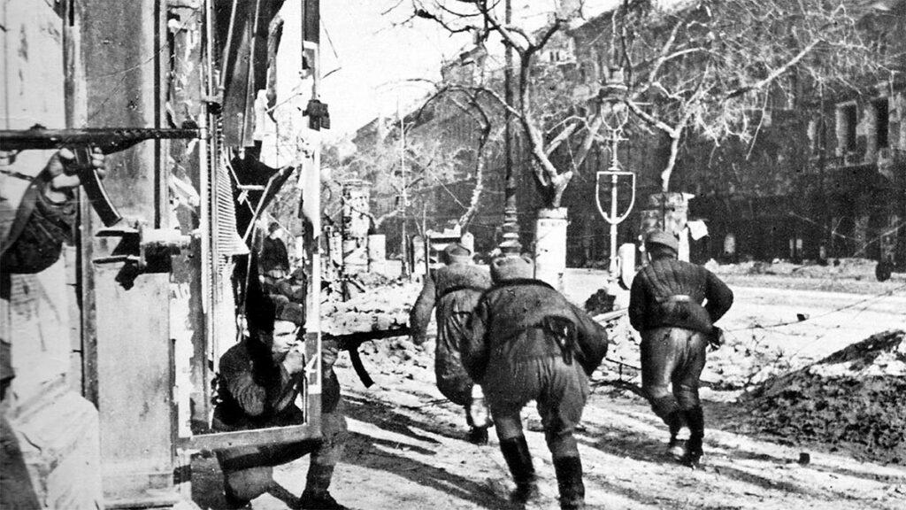 Β'ΠΠ - ΕΣΣΔ - Κόκκινος Στρατός - Βουδαπέστη