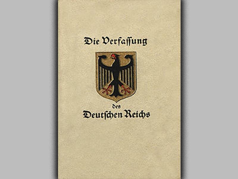 Γερμανία - Δημοκρατία της Βαϊμάρης
