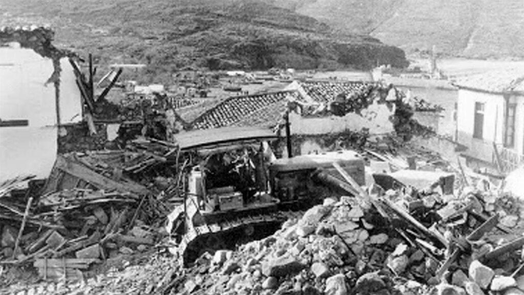 Ελλάδα - Άϊ Στράτης - σεισμός, 1968