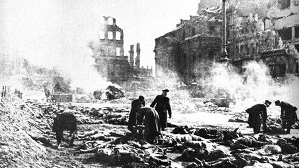 Β'ΠΠ - Ναζιστική Γερμανία - Δυτικές δυνάμεις - Βομβαρδισμός Δρέσδης