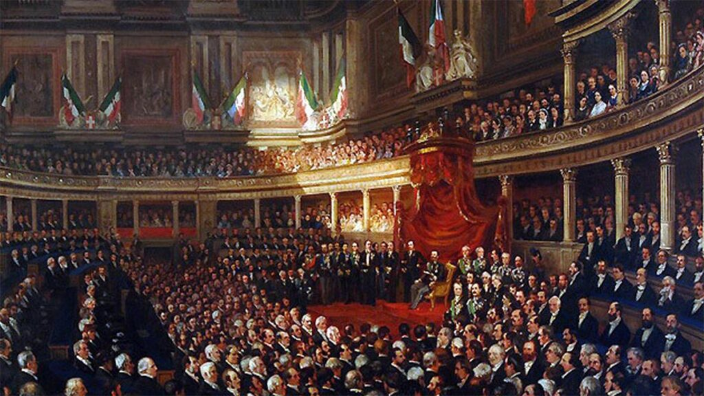 Ιταλία - Αστική Δημοκρατία - Βουλή Ενιαίας Ιταλίας