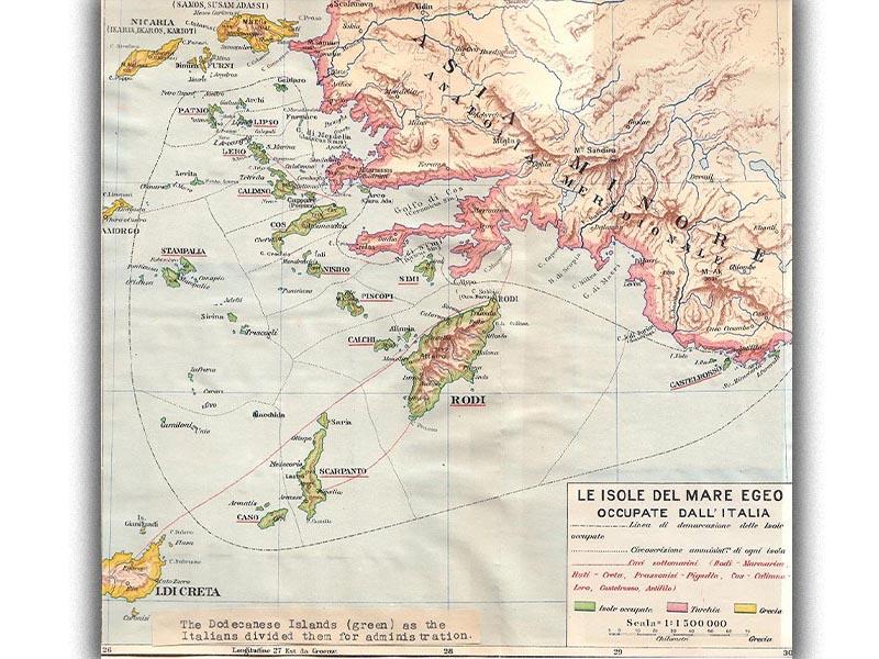 Δωδεκάνησα - Αγγλοϊταλικό σύμφωνο, 1925
