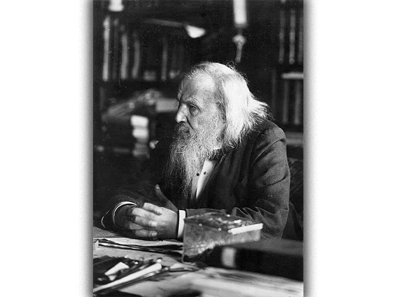 Επιστήμες - Χημεία - Ντμίτρι Ιβάνοβιτς Μεντελέγιεφ