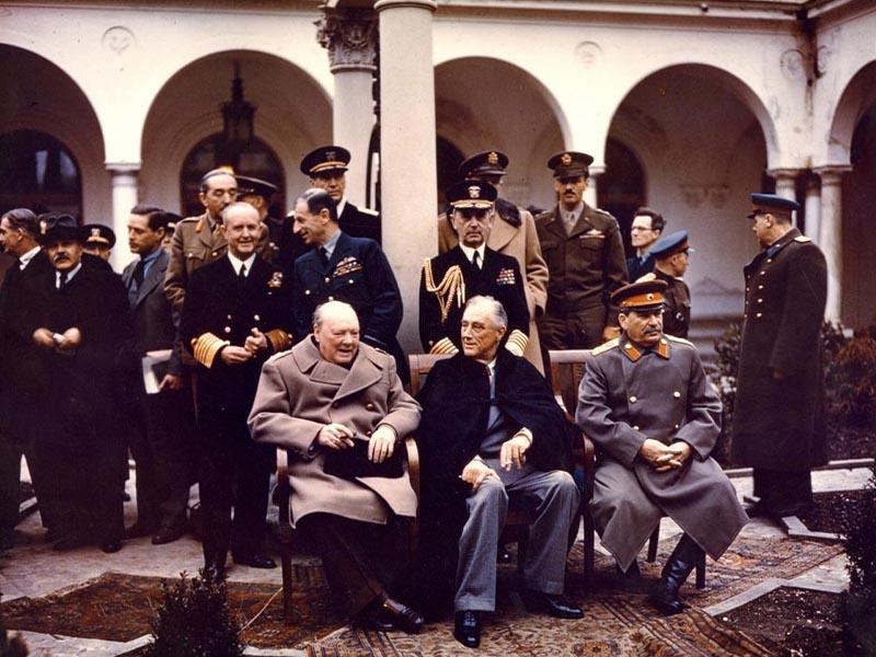 Β'ΠΠ - ΕΣΣΔ - Διάσκεψη της Γιάλτας, 1945