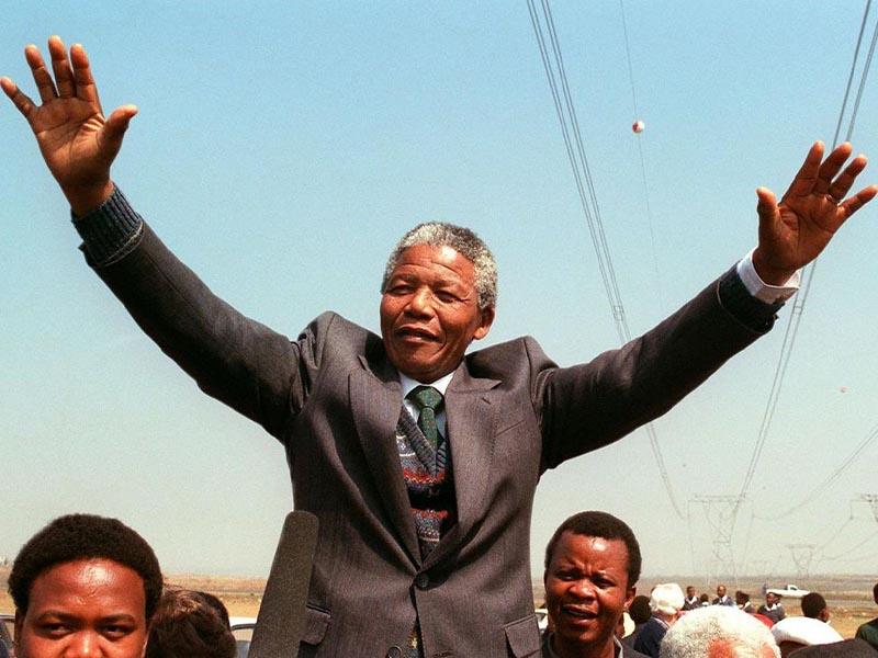 Νότιος Αφρική - Απαρτχάιντ - Νέλσον Μαντέλα