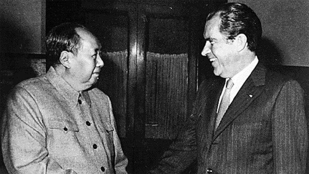 ΗΠΑ - Κίνα - Ρίτσαρντ Νίξον - Μάο Τσε Τούνγκ